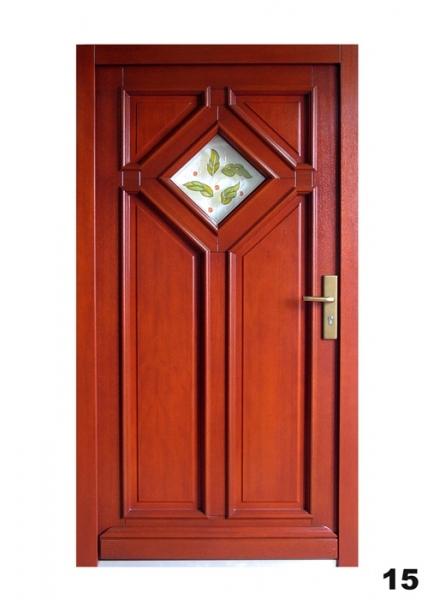 Vchodové dveře - model 15