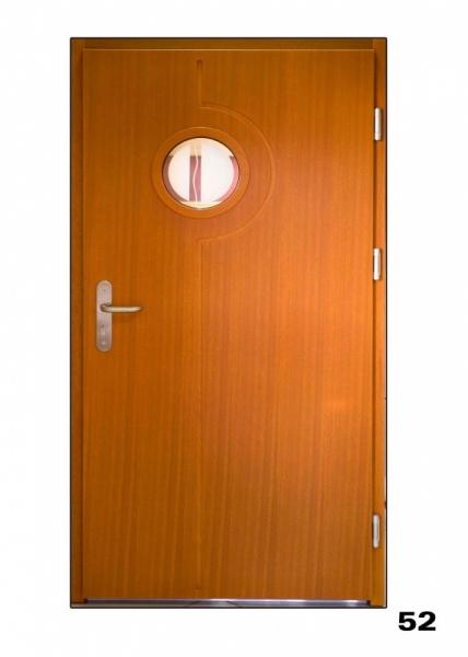 Vchodové dveře, model 52