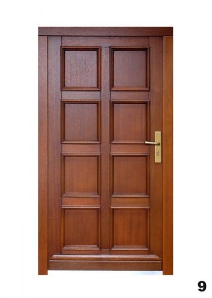 Vchodové dveře - model 9