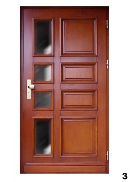 Vchodové dveře - model 3