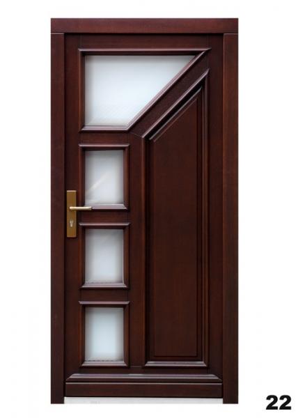 Vchodové dveře - model 22