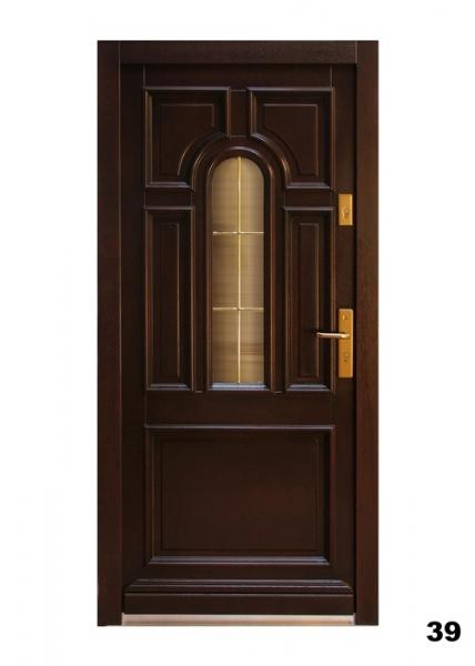 Vchodové dveře - model 39