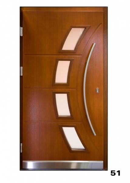Vchodové dveře, model 51