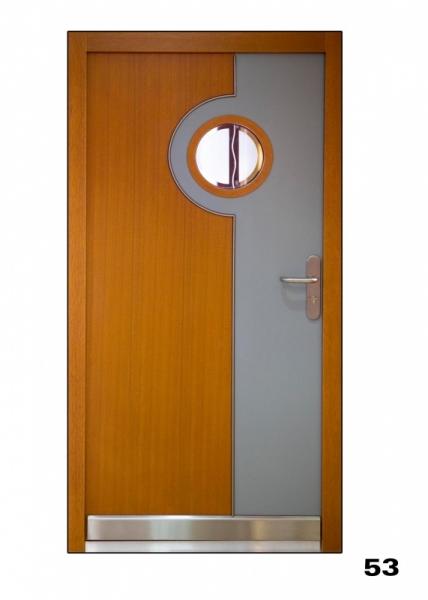 Vchodové dveře, model 53