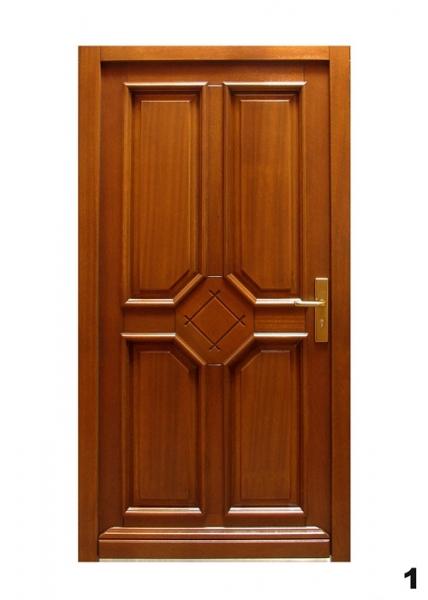 Vchodové dveře - model 1