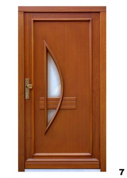 Vchodové dveře - model 7
