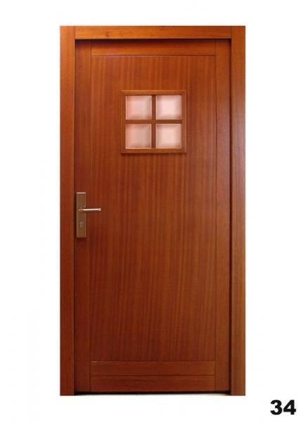 Vchodové dveře - model 34