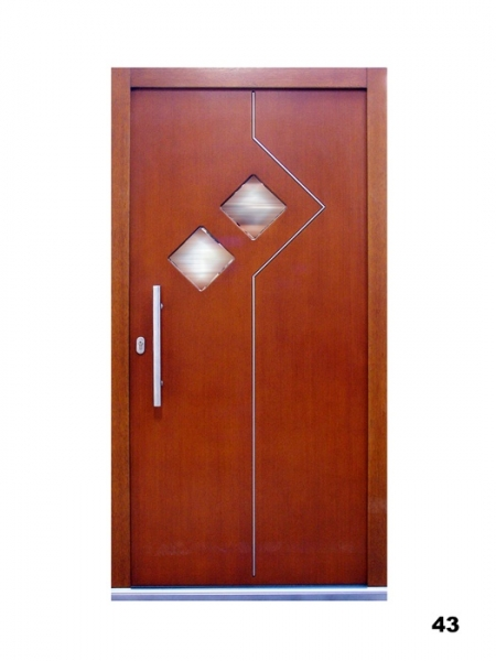 Vchodové dveře - model 43