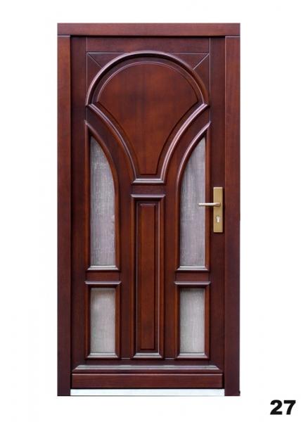 Vchodové dveře - model 27