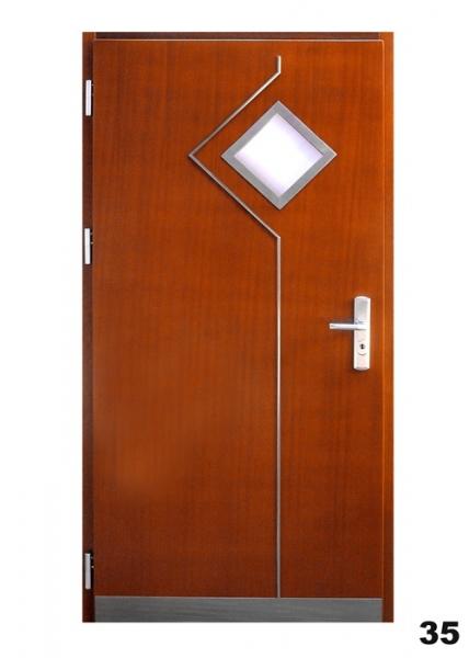 Vchodové dveře - model 35
