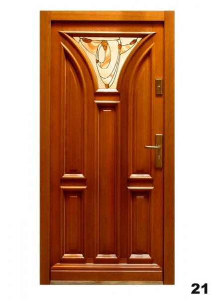 Vchodové dveře - model 21