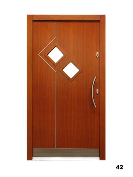 Vchodové dveře - model 42