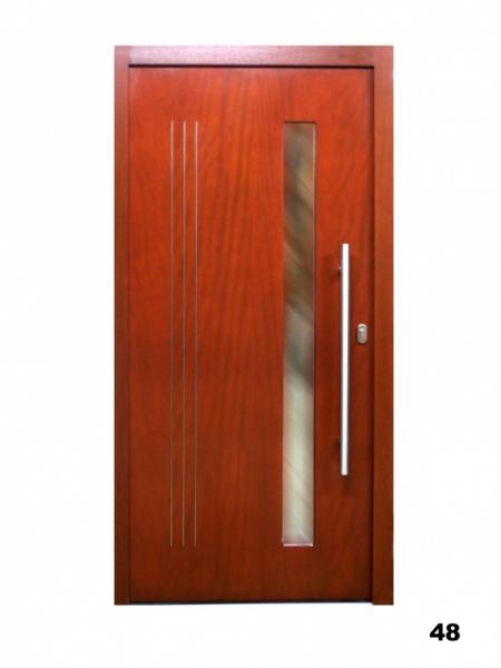 Vchodové dveře, model 48