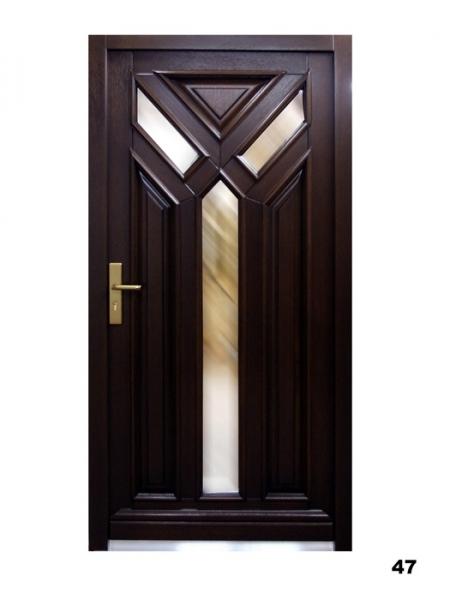 Vchodové dveře - model 47