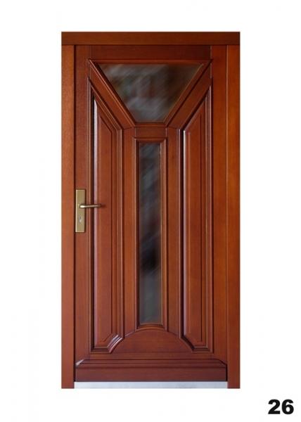 Vchodové dveře - model 26