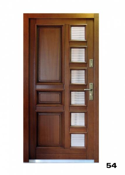 Vchodové dveře, model 54