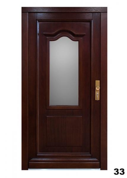 Vchodové dveře - model 33