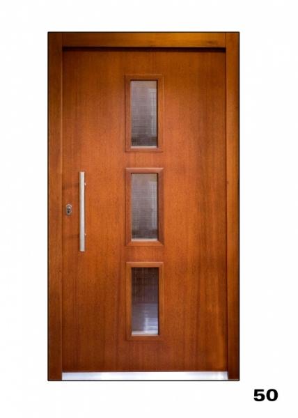 Vchodové dveře, model 50
