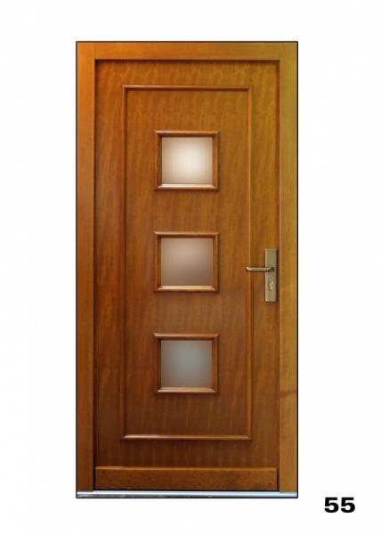 Vchodové dveře, model 55