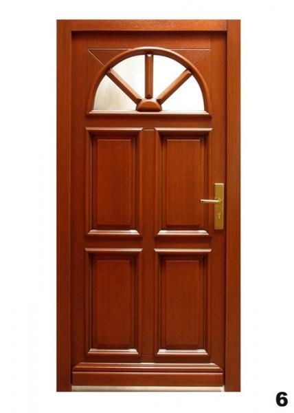 Vchodové dveře - model 6