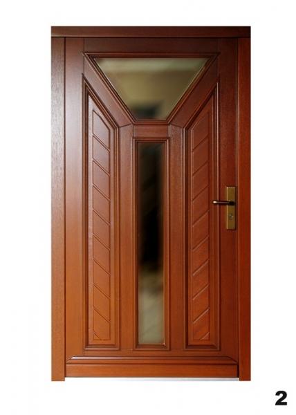 Vchodové dveře - model 2