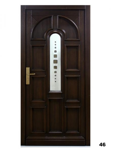 Vchodové dveře - model 46