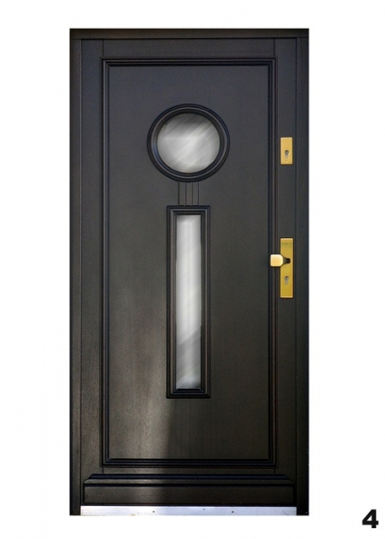 Vchodové dveře - model 4