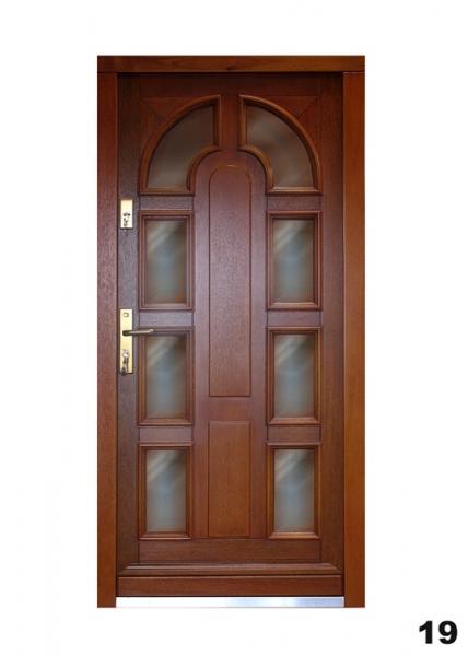 Vchodové dveře - model 19