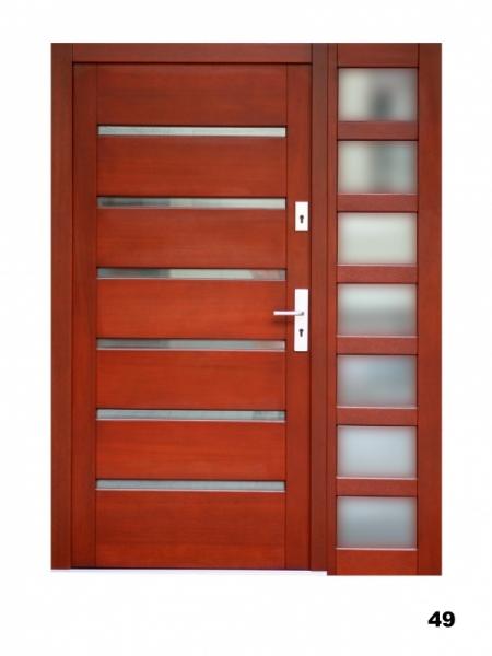 Vchodové dveře, model 49