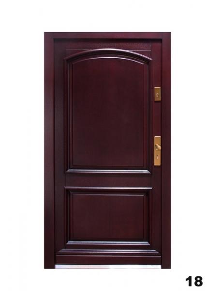 Vchodové dveře - model 18