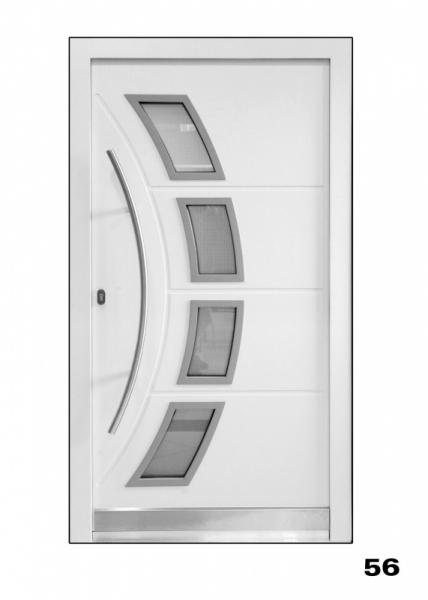 Vchodové dveře, model 56