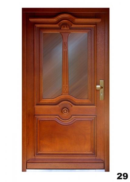 Vchodové dveře - model 29