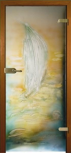 Skleněné dveře - model Canotto