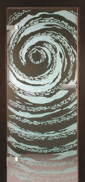 Skleněné dveře - model 22