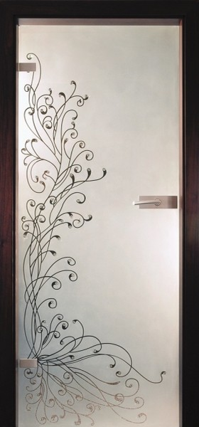 Skleněné dveře - model 27