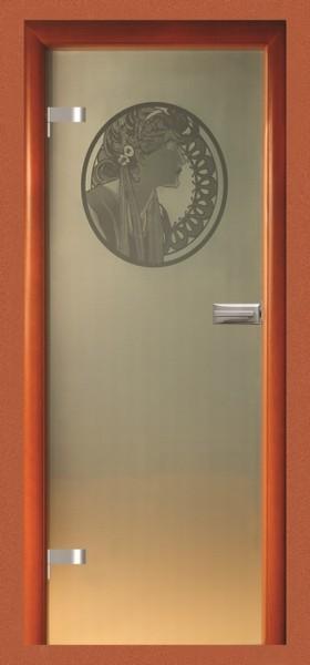 Skleněné dveře - model 30