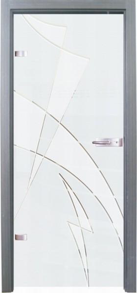 Skleněné dveře - model 15