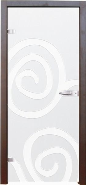 Skleněné dveře - model 2