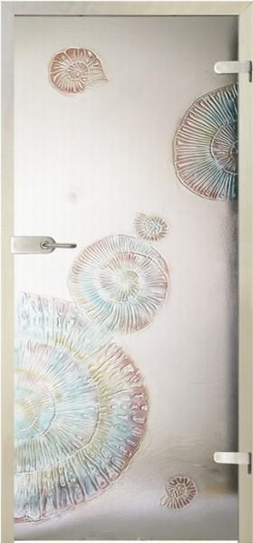 Skleněné dveře - model Concha