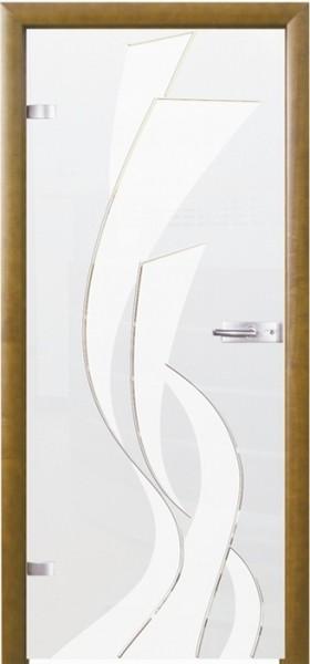 Skleněné dveře - model 5
