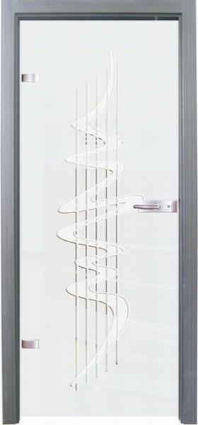 Skleněné dveře - model 18