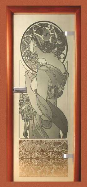 Skleněné dveře - model 31