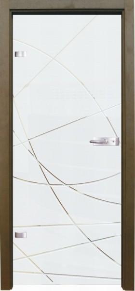 Skleněné dveře - model 13