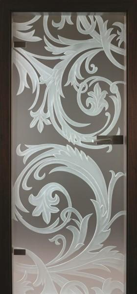 Skleněné dveře - model 23