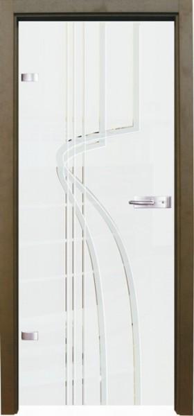 Skleněné dveře - model 17