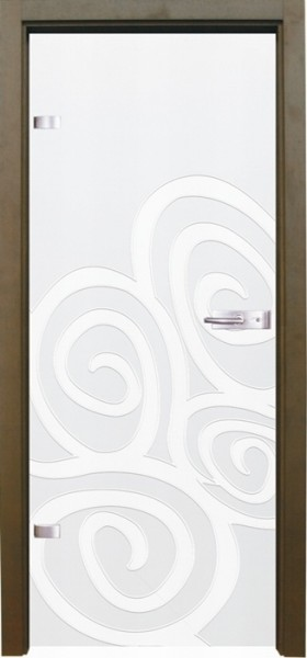 Skleněné dveře - model 1