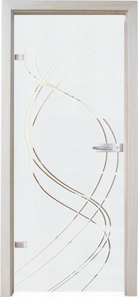 Skleněné dveře - model 16