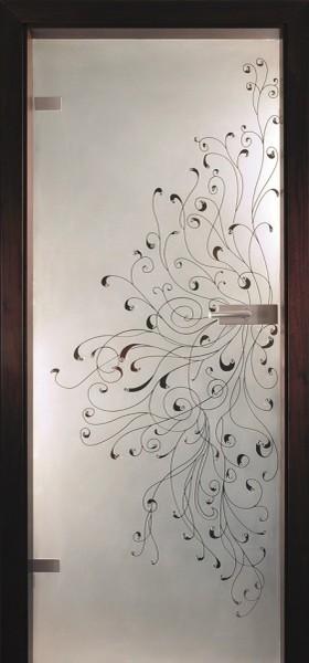 Skleněné dveře - model 28