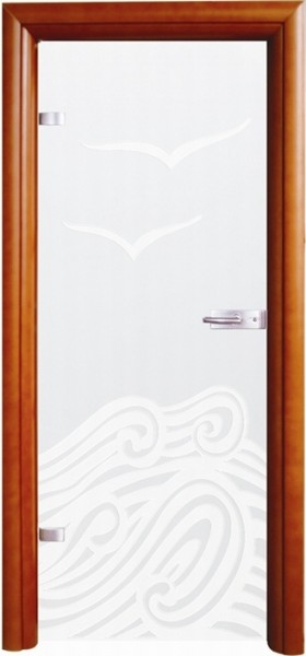 Skleněné dveře - model 7